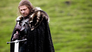 Ned Stark prepares for an execution. Beheading is still used in Saudi Arabia.