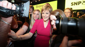 SNP leader Nicola Sturgeon has ruled out any deal (formal or informal) with the Conservatives.