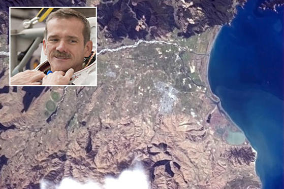 Blenheim Chris Hadfield