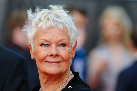 LONDON, ENGLAND - APRIL 13: Judi Dench attends the Laurence Olivier Awards at The Royal Opera House on April 13, 2014 in London, England. (Photo by Ben Pruchnie/WireImage)