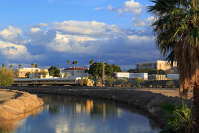 Yuma Main Canal & Riverside Park, Arizona.