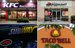 The world's 30 biggest franchises