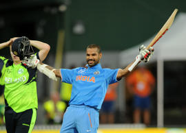 Dhawan rises to 6th spot in ODI rankings