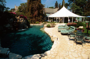 <p>The Playboy Mansion</p>