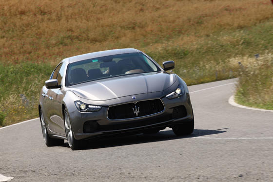 Slide 1 of 23: Maserati Ghibli S Q4