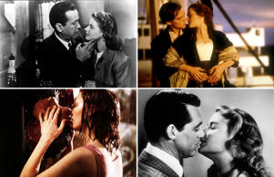 The best onscreen kisses of all time