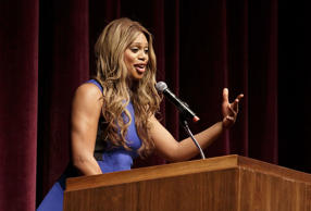 Laverne Cox Speaks At The University of Connecticut
