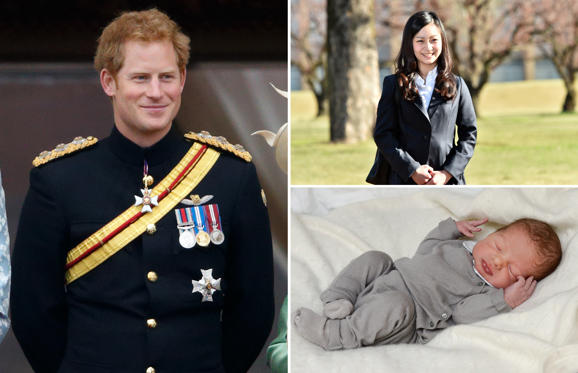 Slide 1 of 21: Royals who are set to inherit the world
