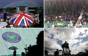 Wimbledon's Wild Weather