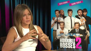 Horrible Bosses 2: Jennifer Aniston Exclusive Interview 2