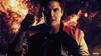 David Hasselhoff's new music video is spectacular
