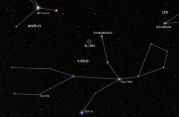 Now is a good time to spot the constellation Virgo in the southern and southeast skies.