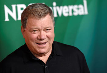 William Shatner arrives at the NBC Universal Summer Press Day at The Langham Huntington Hotel on Thursday, April 2, 2015, in Pasadena, Calif.