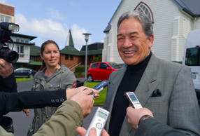 Winston Peters has told Stewart Islanders they and others living in remote areas of New Zealand have been forgotten by the government.