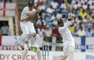 Marlon Samuels defied England on day one