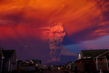 Chilean Calbuco volcano eruption