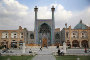 Unesco-listed Naqsh-eJanan Square in Isfahan, Iran.