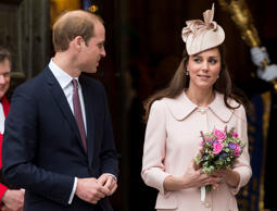 Catherine, Duchess of Cambridge and Prince William, Duke of Cambridge attend The Commonwealth Service at Westminster Abbey on March 9, 2015 in London, England.
