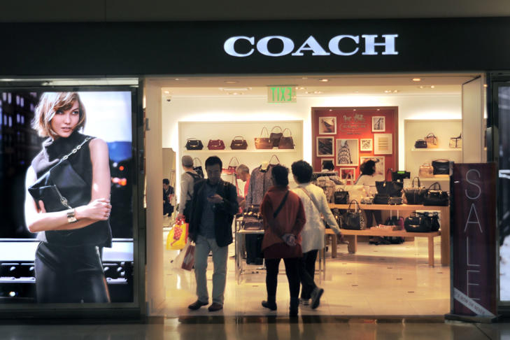 Coach store at the San Francisco International Airport