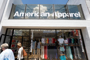 American Apparel store in Pittsburgh