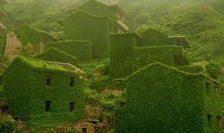 Abandoned places that nature reclaimed