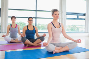 Women doing yoga. File picture.