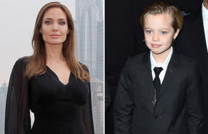Angelina Jolie and Shiloh Nouvel Jolie-Pitt