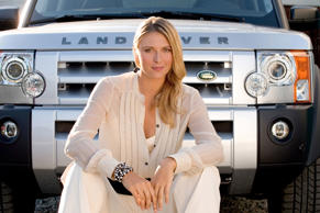 We interrupt this feature to bring you half a dozen pictures of Maria Sharapova. No doubt this will bring some joy to many people, but if you'd rather skip forward to slide number 38, now's your chance. As an 18-year-old, Sharapova became a brand ambassador for Land Rover, claiming: 'When I won Wimbledon I told myself, now I can have a Land Rover.'