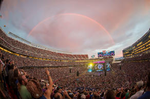 The Grateful Dead perform at Grateful Dead Fare Thee Well Show at Levi's Stadium on Saturday, June 27, 2015, in Santa Clara, Calif