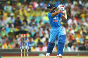 Ajinkya Rahane of India bats during the One Day International match between Australia and India at Sydney Cricket Ground on January 26, 2015 in Sydney, Australia.