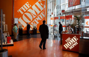<p>Home Depot Inc. stock fell as much as 3.4 percent in New York trading after saying it was working with banks and law enforcement to investigate a possible data breach.</p>