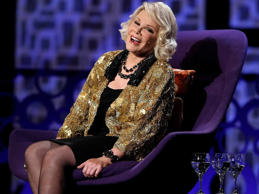 "Acerbic comedian Joan Rivers died on 4 September at the age of 81, following a heart attack during routine throat surgery.It was her bold and brash quips that helped Joan become the first woman to break into late-night comedy. Nobody escaped the cutting one-liners of the 'Queen of Mean', whose recent stint as a host on E!'s Fashion Police was filled with controversy as she lampooned her fellow celebrities with uncompromising humour.Just as famous was her love for a little nip 'n' tuck, which had the comic once crack: ""I've had so much plastic surgery, when I die, they will donate my body to Tupperware."" To celebrate her career and life, we've put together 25 of Joan's funniest jokes and quotes – but don't expect them to be politically correct!Click through the gallery above to see the best of Joan Rivers …"