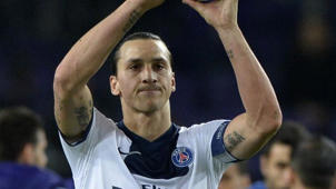 Ibrahimovic scores four in PSG win