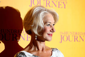 Helen Mirren attends the London premiere of 'Hundred-Foot Journey' on Sept. 3, 2014