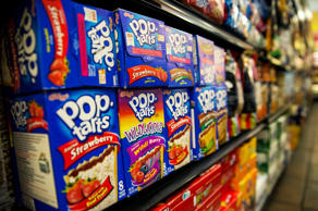 Boxes of Pop-Tarts sit for sale at the Metropolitan Citymarket in the East Village neighborhood of New York City.