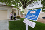 Realtor Helen Riley (L) and Fafie Moore, a Reality Executives owner/broker, leave a home being offered for sale in Henderson, Nevada April 8, 2013. Steve Marcus/ Reuters