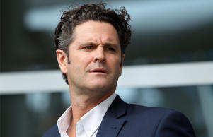 Former New Zealand cricketer Chris Cairns arrives at Auckland Airport in Aucklan...