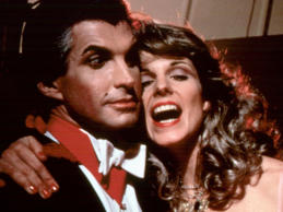 "George Hamilton stars in this comedic take on Stoker's novel, with Susan Saint James playing his resurrected love Cindy and Richard Benjamin as would-be vampire hunter Jeffrey Rosenberg, a.k.a. Jeffrey Van Helsing. Liisa says: ""There's nothing wrong with laughing at vampires. I mean, wearing a cape and turning into a bat is pretty hilarious. This silly comedy pokes fun at all the clichés of vampire movies, as a neurotic slayer tries and tries (and fails) to take out the Count. It showed how well, by the end of the 1970s, all those horror movies had established garlic and mirrors and coffins as trademarks of vampire storytelling, and could be turned on their head for laughs."""