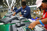 <p>Manufacturing cooled in September following the strongest rate of growth in three years as U.S. factories settled into a more sustainable expansion that will spur the economy.</p>