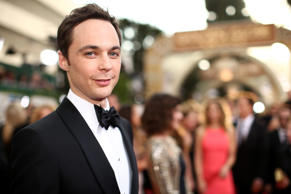 Actor Jim Parsons arrives to the 71st Annual Golden Globe Awards held at the Beverly Hilton Hotel on Jan. 12, 2014 in Beverly Hills, Calif.