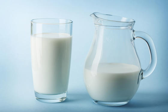 Slide 18 de 18: The milk we buy from the supermarket is pasteurised but there are people who drink and make cheese from raw milk. Milk that hasn't been pasteurised (heated to a high temperature and rapidly cooled down) is far more likely to contain salmonella, E. coli and listeria.