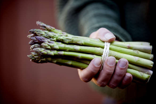 A known aphrodisiac, asparagus contains folic acid, potassium and vitamin E, which are all essential for healthy testosterone production.