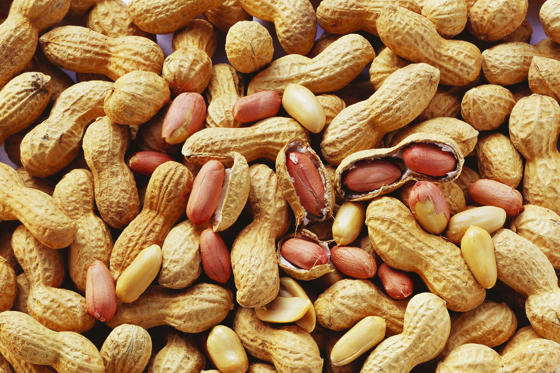 Slide 11 de 18: Peanuts are fine – as long as you don't have an allergy. Peanuts account for more food allergy deaths than any other food. Pretty scary when you consider it affects around 1% of people.