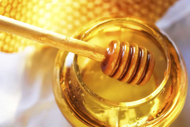 Known as nature's healer, honey contains boron, a mineral associated with high testosterone levels, and nitric oxide, which opens up blood vessels to improve the strength of your erection.