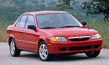 Mazda Protege - Information and photos - MOMENTcar