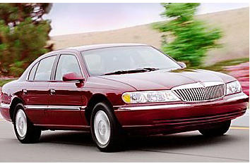 2001 lincoln continental overview msn autos. Black Bedroom Furniture Sets. Home Design Ideas