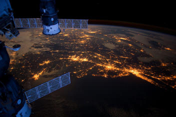 Amazing night shots of Earth clicked from space.