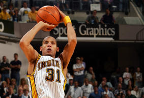 Even though he never won a ring, Miller still is an all-time great in the playoffs. His performances in Madison Square Garden against the Knicks are the stuff of legend, especially his famous eight points in 8.9 seconds in 1995. Of course, that came on the heels of his 25-point fourth quarter in Game 5 of the 1994 Eastern Conference Finals, which combined with his blossoming feud with Spike Lee thrust Miller into the national consciousness. He had several more monstrously clutch performances, including a game-winning three over Jordan's 1998 championship-winning Bulls squad and buzzer-beaters to push the 2002 No. 1 seeded Nets to the brink in a deciding first round Game 5.