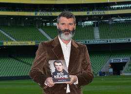 Roy Keane launches his autobiography 'The Second Half' written by Roddy Doyle at the Aviva Stadium, Dublin, Ireland - 09.10.14.