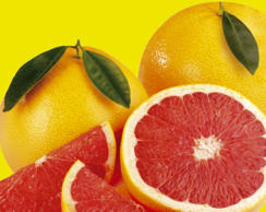 Eating half a grapefruit before each meal or drinking its juice three times a day can result in 3 pounds weight loss in 12 weeks.